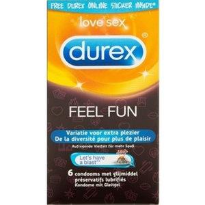 Durex Emoji Feel Fun - 6 stuks
